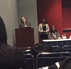 GendHR Lab doctoral candidate, Julie Ober Allen, presenting on The YBMen Project at the American Public Health Association (APHA) Conference in Chicago, IL November 2, 2015.